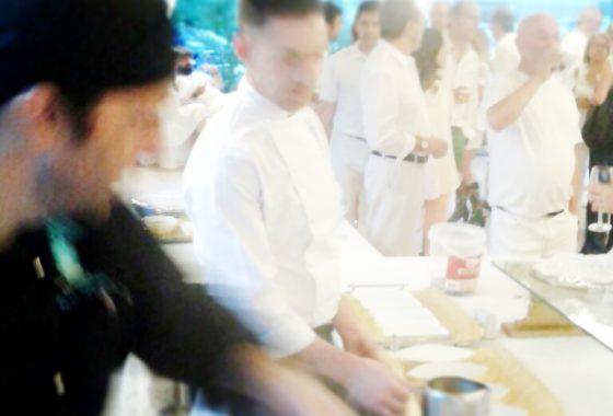 Cocina en vivo Balneario de Puente Viesgo