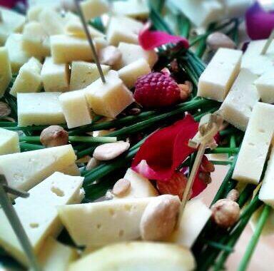 fuente de quesos Balneario de Puente Viesgo