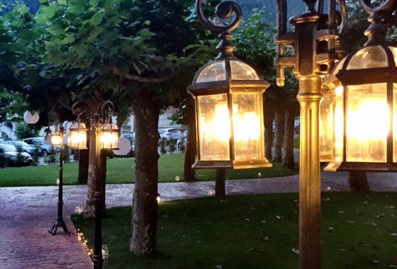 Jardin para celebraciones y eventos en Cantabria
