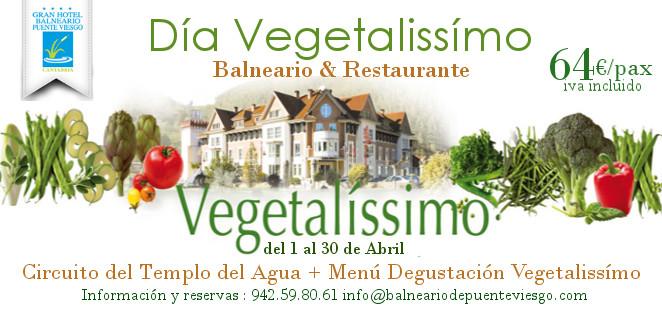Jornadas Gastronómicas VEGETALISSIMO en Cantabria|