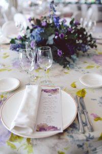 Viste la mesa de tu boda