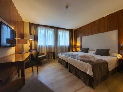 habitacion Gran Hotel Balneario Spa Puente Viesgo en Cantabria