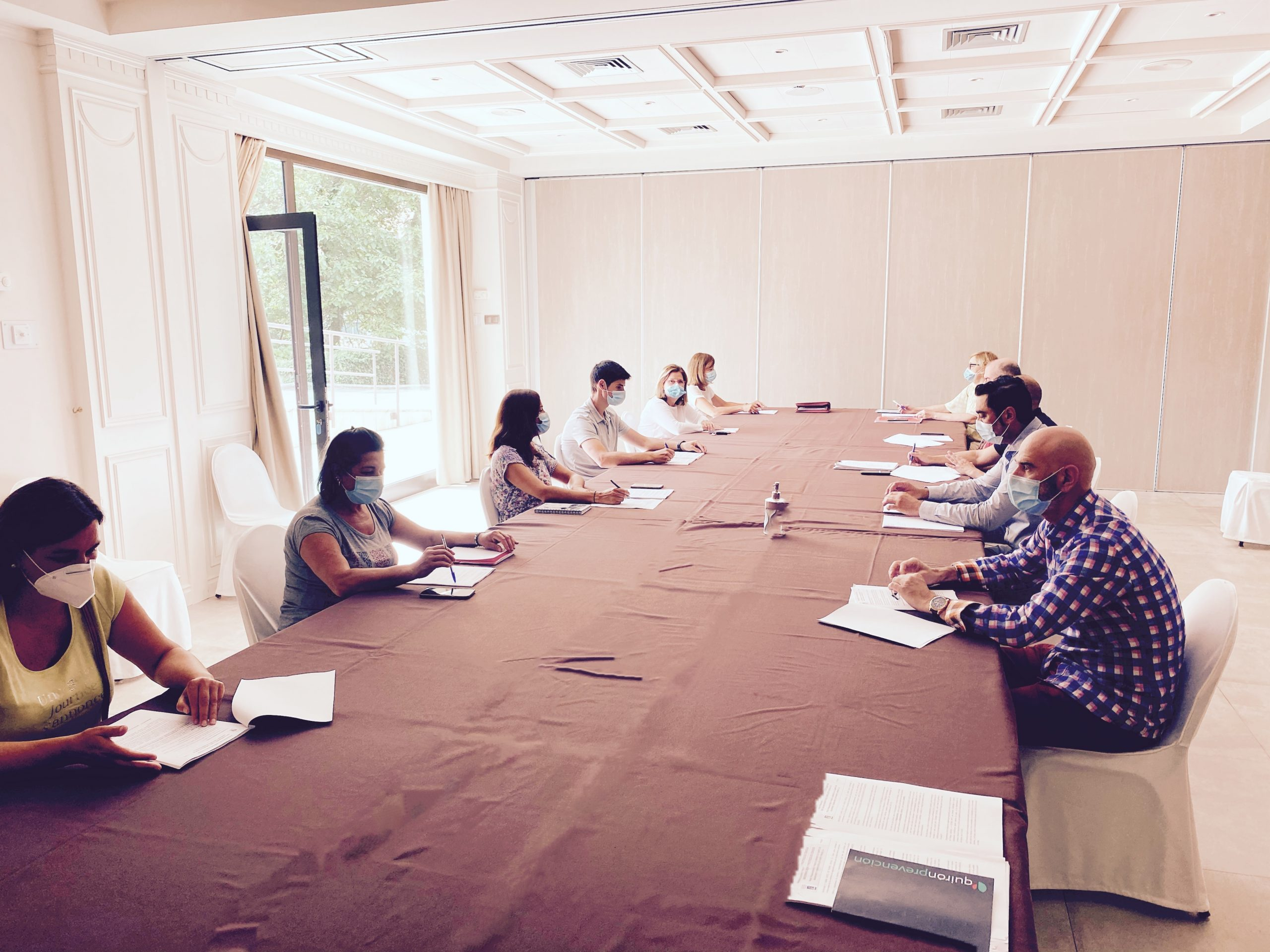 Comite de Seguridad y Salud del Gran Hotel Balneario de Puente Viesgo