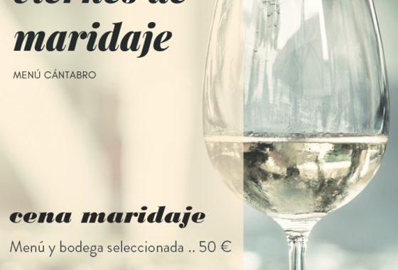 Cena maridaje en Cantabria